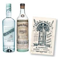 En 1885, Emile Giffard lance la Menthe-Pastille, une boisson aux vertus digestives et désaltérantes.