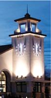 Les Horloges Huchez exportent dans le monde entier. Ici, l'horloge de la banque Capitol Federal à Kansas City ( Etats-Unis).