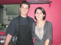 David Bernard et Marie Geffriaud espèrent que le succès du menu «anti-crise» se vérifiera sur le long terme.