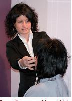 En accueillant un apprenti étranger, Sylvie Favreau donne une image dynamique et tournée vers le monde à ses clients.