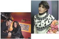 Les célébrités n'hésitent pas à ouvrir des commerces, à l'image de Dani (ci-dessus) et de Mathieu Johann et Clémence Castel (ci-contre).