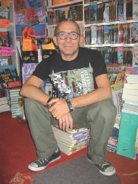 «La littérature est souvent traitée à la télé par ceux qui fabriquent les livres.» Gétatd Collatd Libraire