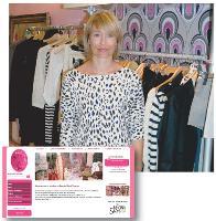 Cécile Maire réalise plus de 15% de son chiffre d'affaires grâce à sa boutique en ligne.