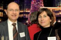 Bernard Lévêque (Advancia Negocia) et Sophie Plaisance (APCM)