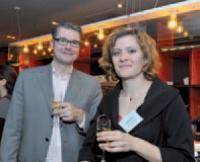 Stéphane Dumont (Sage) et Céline Keller (Commerce Magazine)
