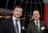 Vincent Martin (ACFCI) et Christophe Poissonnier (Ciel)