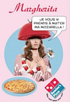 Domino's Pizza revisite les classiques et personnifie ses pizzas dans une campagne de communication déclinée à la télé et sur le Web.
