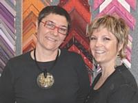 Marie-Hélène Piot (à gauche) et Sylvie Mourgues sont à la tête d'une boutique physique et d'un site marchand, qui assure les deux tiers de leur chiffre d'affaires.