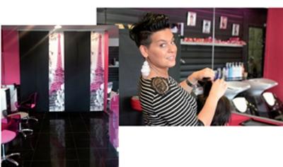 Salon coiffure femme voilee