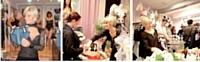 Alexia Lesage organise régulièrement des soirées à thème et des défilés où ses clientes présentent ses collections.