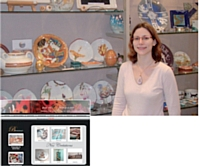 Dans sa boutique ou sur son site, Raphaëlle Lambert propose un large choix de créations originales.