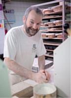 A Noël, Didier Lelling a offert 800 cabas à sa clientèle pour la sensibiliser au développement durable.