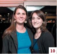 Valérie Piquée et Sophie Ortz (Office de commerce et de l'artisanat de Bayonne)