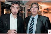 Rémi Brunet (GDF Suez Energies France) et Gérard Bouhanna (OKI Systèmes France)