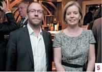 Edmond Espanel (Commerce Magazine) et Joséphine Ray (Ciel)