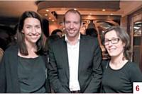 Stéfanie Moge-Masson et Julien van der Feer (Commerce Magazine) et Mathilde Labidoire (Distillerie artisanale Turin-Labidoire)