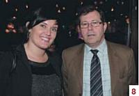 Christelle Colin (Commerce Magazine) et Dominique Janin (CIC)