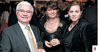 Jean-Jacques Hebras et Martine Cottu (UCAT Vitrines de Tours) et Juliette Plouseau (Commerce Magazine)