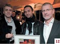 Paulo Goncalves, Guillaume Michel et Marc Peron (Cobrason)