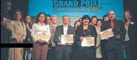 Les lauréats au complet