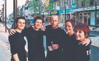 L'équipe de Y Coiffure a été remotivée par l'émission télévisée.