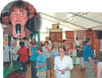 Depuis 2005, Claire Masia organise un Salon de l'habitat à Doudeville, en Seine-Maritime.