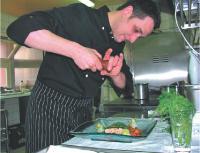 Lionel Coint a instauré un système innovant de caméras pointées vers les cuisines de son restaurant, «L'Endroit».