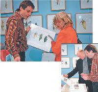 Chaque vendredi soir, Armel Louis organise un événement dans sa librairie (exposition, téâtre...)