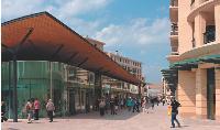 Les Allées Provençales, à Aix-en-Provence, sont voulues comme une extension du centre-ville.