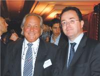 Thierry Frontère (Commerce Magazine) et Christophe Poissonnier (Ciel)