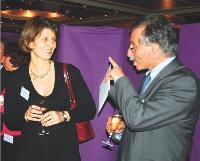Tatiana Tauziet et Jean-Paul Camous (Gaz de France)