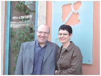 Giuseppe et Anne-France Di Bella accueillent, une fois par mois, les membres de leur business club dans leur restaurant.