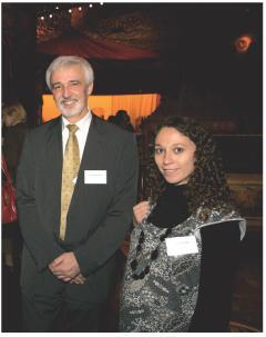 Jean-Pierre Hervé (GDF Suez) et Delphine Ferré (GDF Suez)
