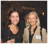 Stéfanie Moge-Masson (Commerce Magazine) et Elisabeth de Dieuleveult (APCM)