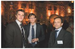 Vincent Léonard (Commerce Magazine), Hubert Cornet (Cadhoc) et Alain Holtz (Commerce Magazine)