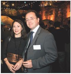 Christophe Poissonnier (Ciel) et sa femme