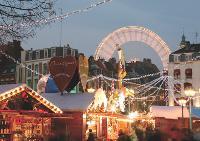 Le marché de Noël de Lille a accueilli 900 000 personnes en 2007.