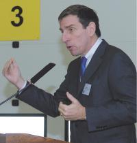 Michel Milcent, directeur général du groupe Office Depot France
