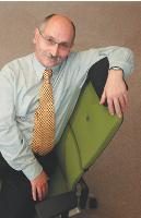 André malsch, responsable du développement durable chez Steelcase.