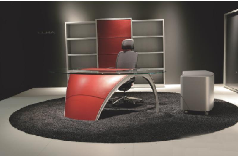 La sobri t des nouveaux bureaux haut de gamme for Bureau design 1 m