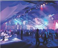 En matière d'événementiel, les clients recherchent des lieux de plus en plus originaux. Ici, la structure de Business Solutions peut accueillir jusqu'à 6000 personnes pour un cocktail.