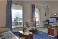 Les appartements proposés vont du T1 (20 m2) au T3 (60 m2). Comptez 33 euros HT par jour pour la location du T1.