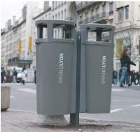Une poubelle écologique chez Plastic Omnium