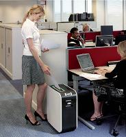 Environ 30% des entreprises françaises sont équipées d'un destructeur de documents.