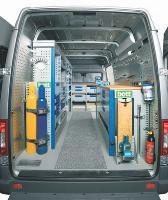 Un utilitaire bien rangé véhicule une image professionnelle de l'entreprise.
