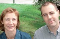 Muriel Ansselin, responsable du pôle achats immobilier et services aux collaborateurs, et Marc Flandre, responsable restauration de Bouygues Telecom.