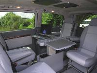 SABMC a fait le choix d'un Mercedes Viano, configuré en face-à-face, afin de favoriser le travail d'équipe.