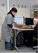 12h - 14h Les bureaux sont nettoyés à l'heure du déjeuner pour déranger le moins possible les salariés.