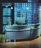 Pour s'adapter parfaitement à la configuration des locaux et aux surfaces disponibles, la banque est souvent fabriquée sur mesure.