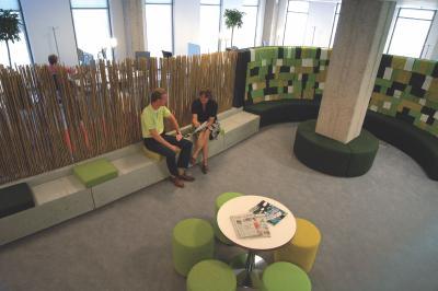 Les limites de l 39 open space for Amenagement espace detente entreprise